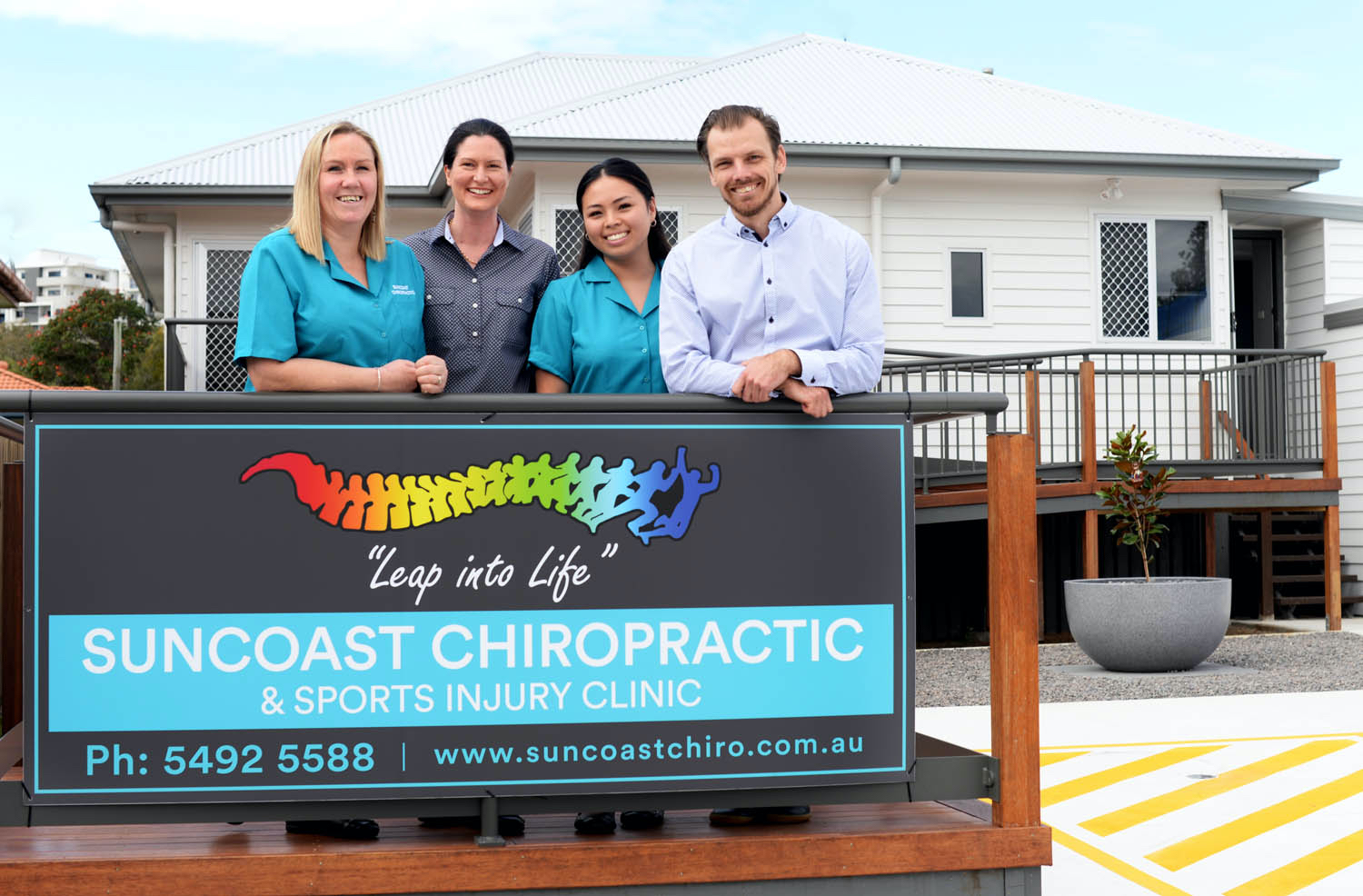 The Suncoast Chiropractic team.